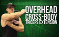 Overhead Cross Body Triceps Extension image